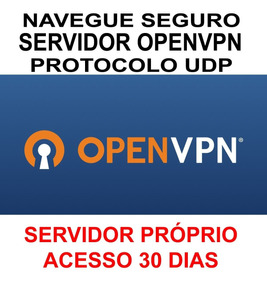 Servidor Vps Vpn Openvpn Protocolo Udp 30 Dias