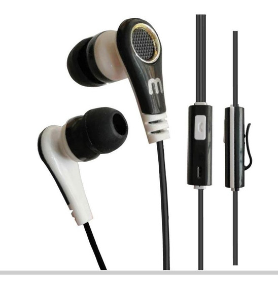 Kit Fone De Ouvido In Ear Com Microfone 10 Pçs 3.5m P2