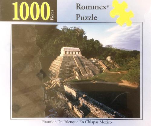 Rompecabezas De 1000 Piezas: La Pirámide De Palenque