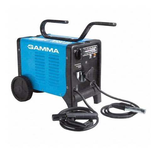 Soldadora Electrica Gamma G3466ar Turbo 220 180 Amp
