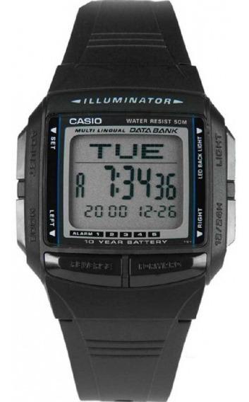 Relogio Casio Db 36-1 Data Bank30 5-alarmes Crono Nf Db36