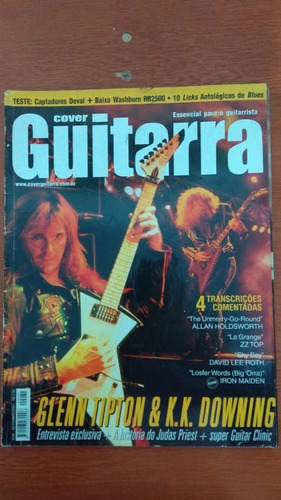 Revista Cover Guitarra 82