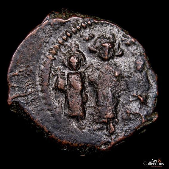 Ch C / Bizancio, Heraclio, Heraclio Const. Y Martina Follis