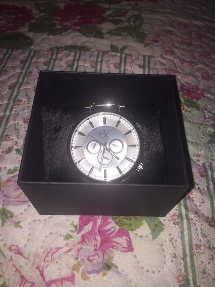 Relógio Masculino Ck Aço