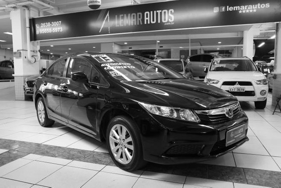 Honda Civic Sedan Lxs 1.8 Flex 16v - 2013 - Automático