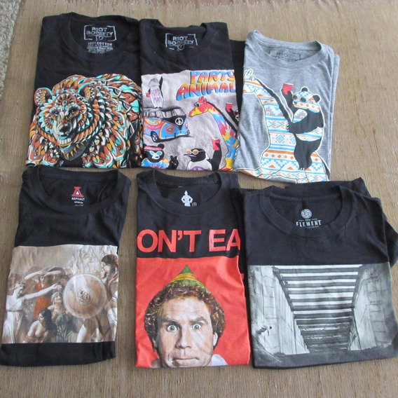 Camiseta Element,riot Socety,asphalt,