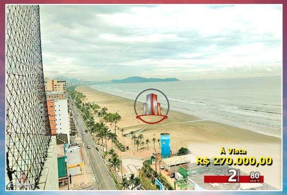 Apartamento Com 2 Dormitórios À Venda, 80 M² Por R$ 270.000,00 - Vila Tupi - Praia Grande/sp - Ap1326