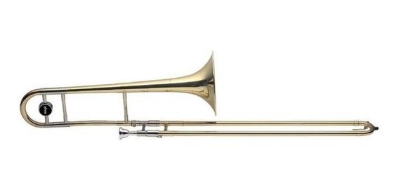 Trombon En Bb Tenor A Vara Campana 215 Mm + Estuche Stagg