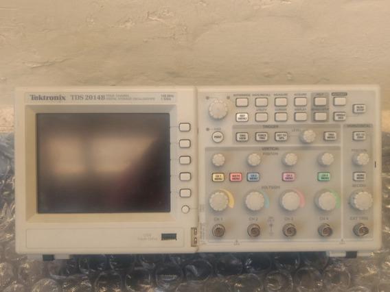 Osciloscopio Tektronix Tds 2014b Colorido