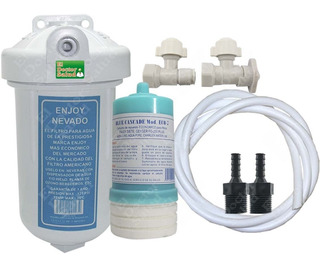Filtro Agua Enjoy 7rp Cartucho Multikit Instalacion Ozono