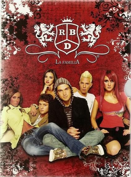 Rebelde Rbd La Familia Dublado E Espanhol Completo 3 Dvds!!