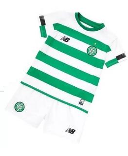 Kit Infantil Celtic 2020 - Griffiths, Brown, Rogic, Weah