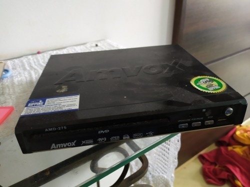 Aparelho Dvd Player Amvox - (leia O Anuncio)