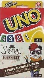 Uno Card Game Snappy Dressers 2 Juegos De Cartas En Uno