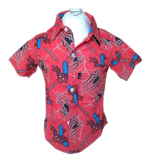 Paq 6 Camisa De Niño De Vestir Varios Colores Manga Corta