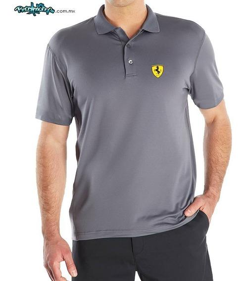 Playera Premium Tipo Polo Dryfit Envio Gratis!! Ferrari