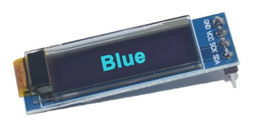 Display Oled Azul 128x32 Pixel 0.91 Polegadas 4 Pinos Ilc