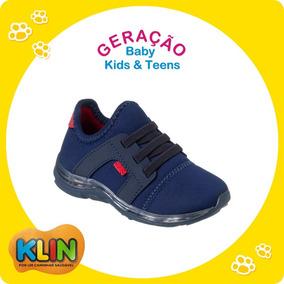 ca028ea59bb Tênis Baby Light C  Luz Infantil Klin Tamanho 22 A 27 -20883