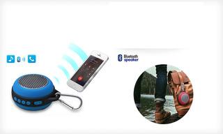 Parlante Portatil Bluetooth Blue Monster 303 Micro Sd Fm 5w