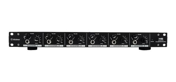 Amplificador De Fones De Ouvido Alctron H6 - Garantia!