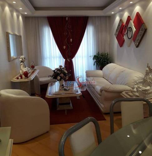 Apartamento Com 3 Dormitórios À Venda, 97 M² Por R$ 550.000,00 - Vila Formosa (zona Leste) - São Paulo/sp - Ap1907