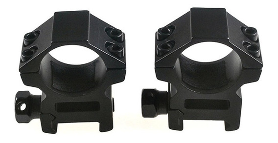 Montura Picatinny 20mm Para Mira Telescópica O Lampara 2pzs