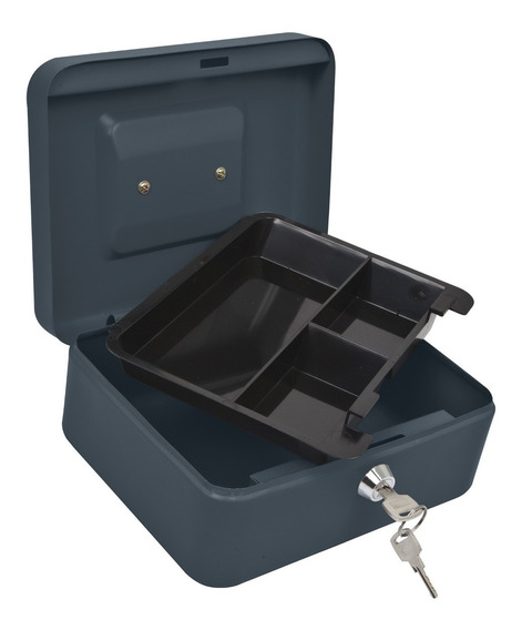Caja De Dinero 3 Separadores Hermex B43074