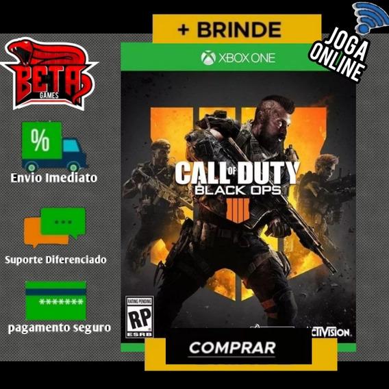 Call Of Duty Black Ops 4 - Xbox One - Midia Digital + Brinde