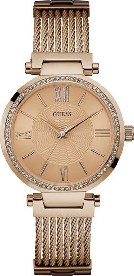 Relógio Feminino Guess 92580lpgvra4 Analógico Náutica Rose