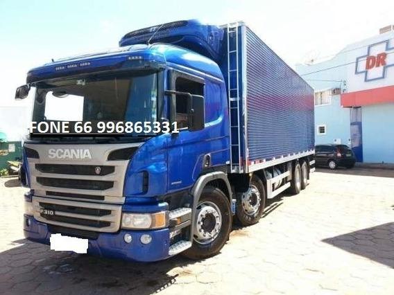 Scania P310 Automática Bitruck Com Baú Frigorifico 2018 0km