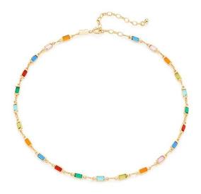 Gargantilha Pedras Coloridas Choker Rommanel 531882