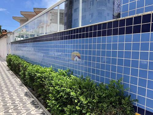 Apartamento Com 2 Dorms, Ocian, Praia Grande - R$ 312 Mil, Cod: 5965 - V5965