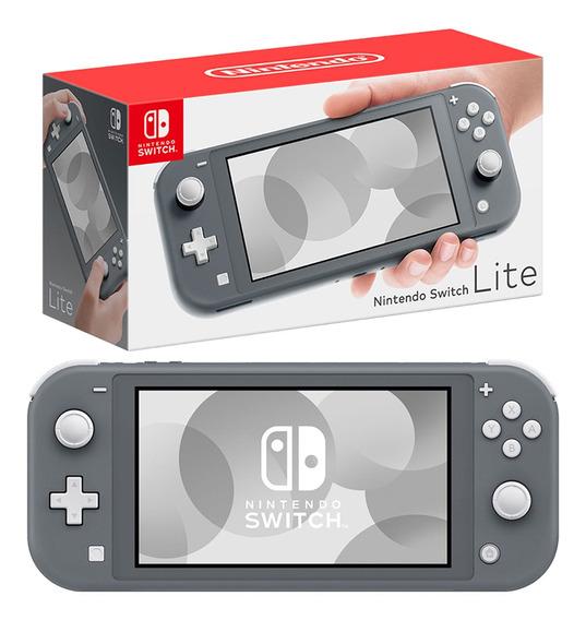 Nintendo Switch Lite Consola 32gb Silver Hdh-s-gazaa