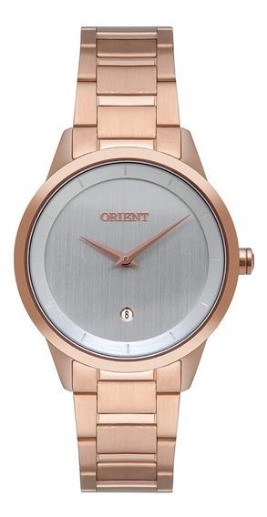 Relógio Orient Feminino Rose Original Com Nf Frss1049 S1rx