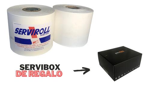 Bobinas Jumbo De Papel Tissue 2 Ply + Servibox De Regalo