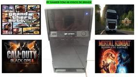 Pc Gamer Core I3+8gb Ram+placa De Video 1gb+46 Jogos Brinde