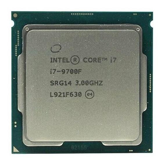 Procesador gamer Intel Core i7-9700F BX80684I79700F de 8 núcleos y 3GHz de frecuencia
