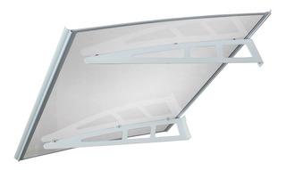 Combo 2 Alero Premium Aluminio 1,2m Policarb Diystore Oferta