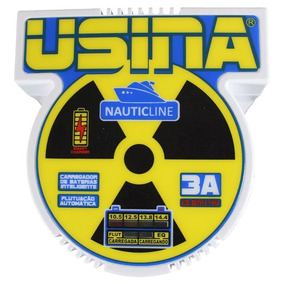 Carregador Usina Nauticline 3a 12v A 14v Bi-volt Automático