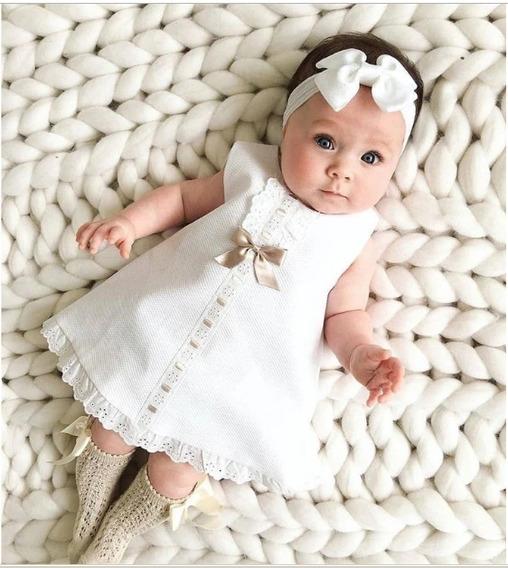 Vestido Festa Batizado Infantil Bebê Menina