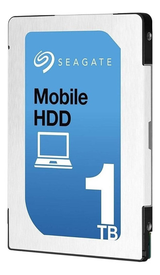 Disco rígido interno Seagate Mobile HDD ST1000LM035 1TB prata