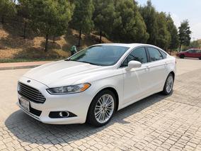Ford Fusion 2015 Se Luxury Plus Ecoboost Piel Qc Como Nuevo