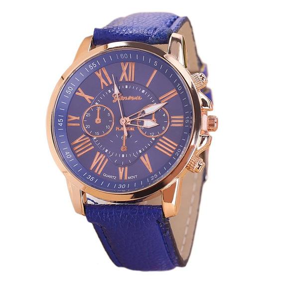 Relógios De Pulso Material Couro Trendy Estilo Relógio Exibi