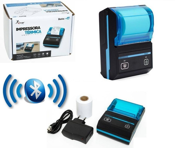 Mini Impressora Portatil Bluetooth Termica Kp-1020 Knup