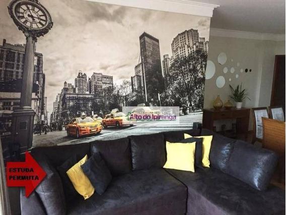 Apartamento Com 3 Dormitórios À Venda, 97 M² - Vila Monte Alegre - São Paulo/sp - Ap4549