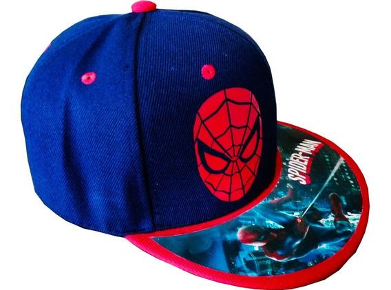 Gorra Personalizada Spider Man Niño O Adulto