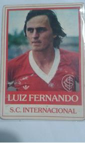 Futebol Cards Ping Pong 228 S.c. Internacional Luiz Fernando