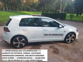 Volkswagen Golf Gti 2.0 L Dsg Navegación Piel