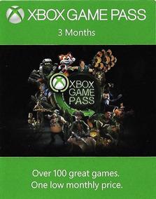 Xbox Game Pass 84 Dias - Renovação Ou Assinatura 25 Digitos