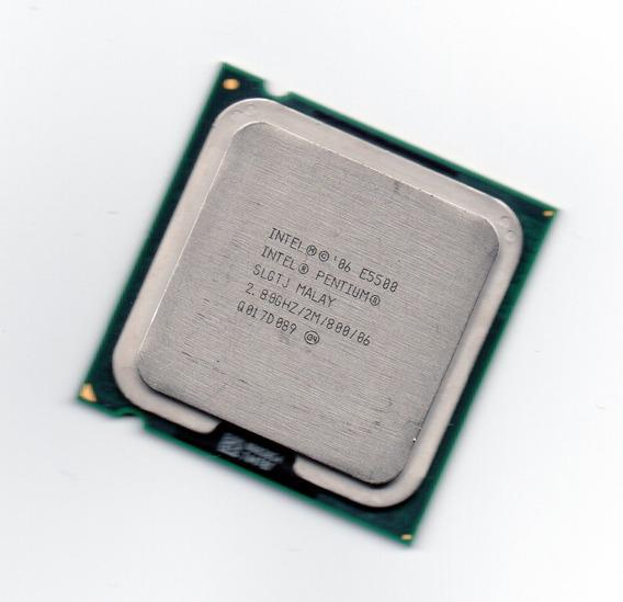 Processador Intel Dual Core E5500 2.80ghz Fsb 800 Lga 775